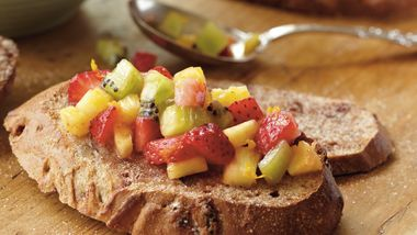 Fruity Breakfast Bruschetta