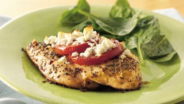 Feta-Topped Chicken