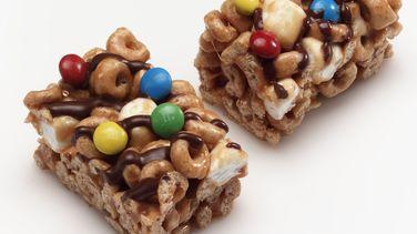 Barras de cereal Cheerios™ de caramelo crocante libre de gluten