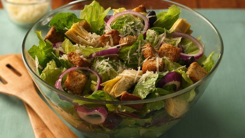 Italian Romaine Salad