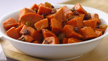 Sweet Potato Salad with Orange-Ginger Dressing