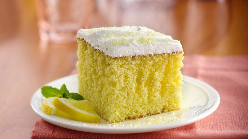 Lemon Cake Recipes Using Box Mix: Lemonade Party Cake Recipe From Betty Crocker