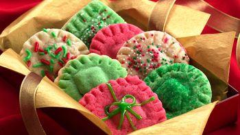 Christmas Surprise Sugar Cookies