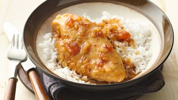 Slow-Cooker 5-Ingredient Apricot-Glazed Chicken