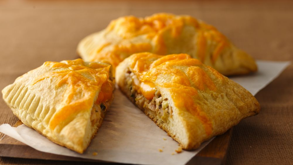 Green Chile and Tuna Crescent Melts