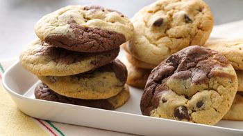 Two-Tone Cookies
