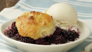 Blackberry Dumpling Cobbler