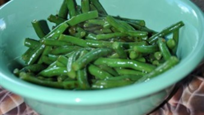 Gingered Green Beans recipe - from Tablespoon!