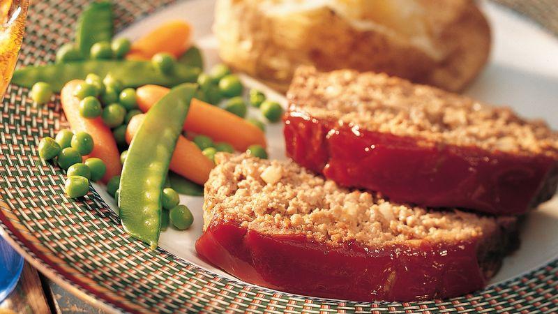 Savory Meatloaf (lighter recipe)