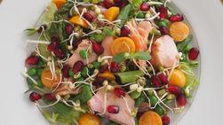 Salmon and Asparagus Summer Salad
