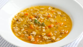 Vegetable-Wild Rice Soup