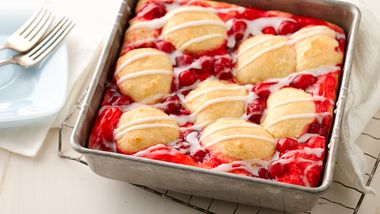 Cherry Swirl Coffee Cake