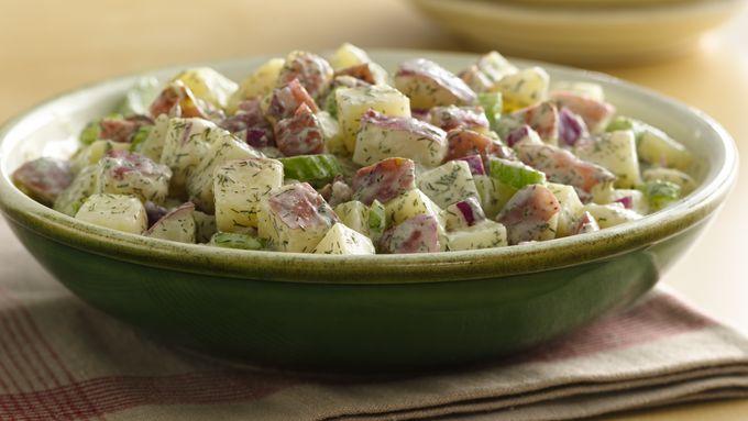 Fresh Dill Yogurt Potato Salad