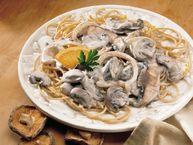 Creamy Mushroom Stroganoff recipe from Betty Crocker
