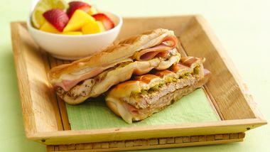 Grilled Cuban Pork Pressed Sandwiches