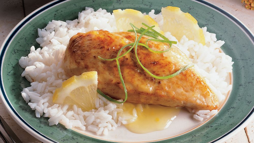 Lemon-Ginger Chicken