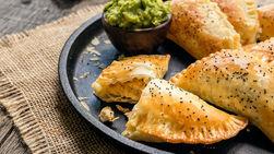 Empanadas de Pollo a la Mostaza y Miel