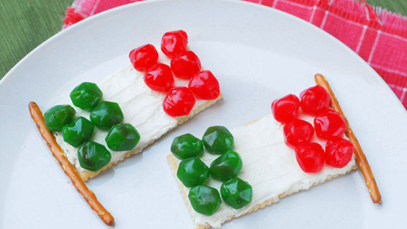 Fruit Gushers™ Mexican Flags