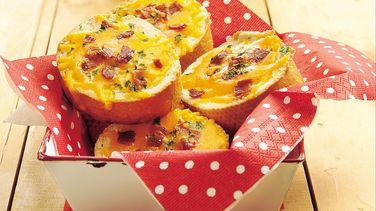 Grilled Bacon-Cheddar Bread