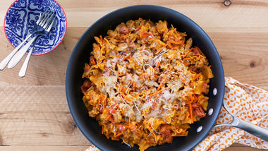 Turkey Lasagna Skillet