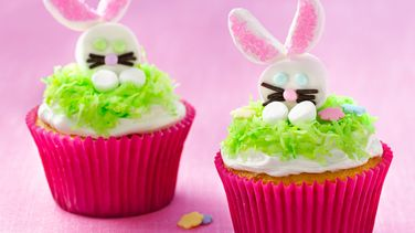 Easter Bunny Nest Cupcakes