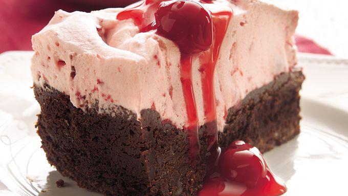 Double Chocolate-Cherry Torte