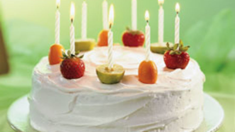 Fruity Celebration Cake