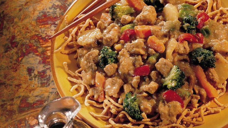 Slow-Cooker Chop Suey