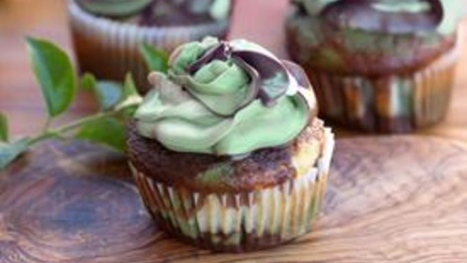 Camouflage Cupcakes Recipe From Tablespoon