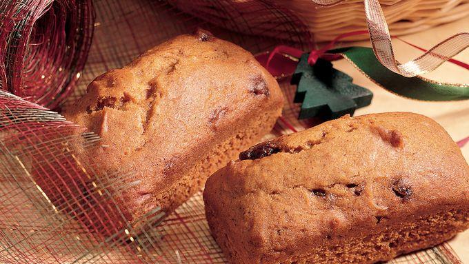 Mini Pumpkin-Date Breads