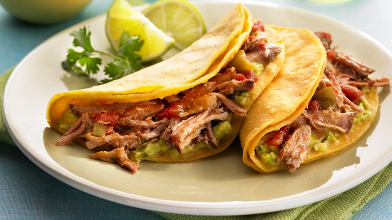 Braised Cinnamon Pork Tacos