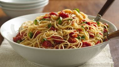 Angel Hair with Tomato and Basil