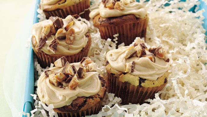 Snickers™ Chocolate Cupcakes