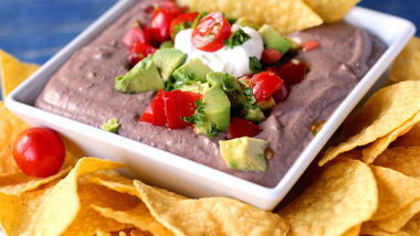 Game-Day Black Bean Hummus