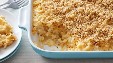 Skinny Cauliflower Macaroni and Cheese
