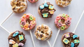 Mini Donut Pops