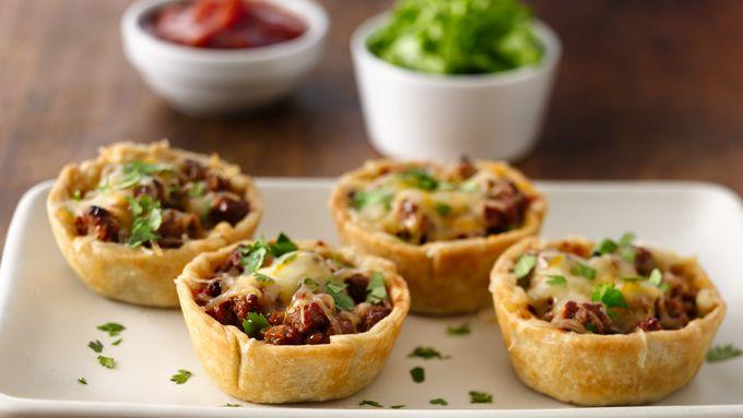 Muffin Tin Taco Pies