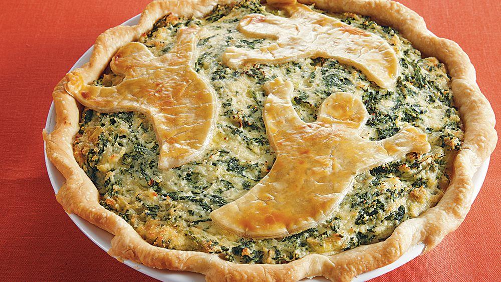 Spooky Spinach Pie