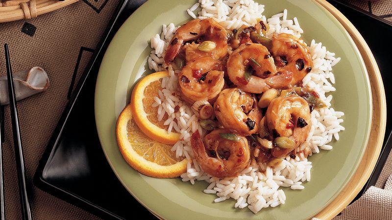 Spicy Citrus Shrimp