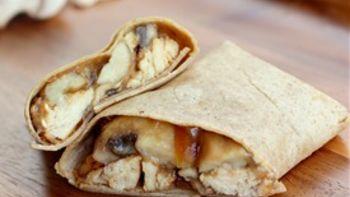 Gourmet Chicken Marsala Wrap
