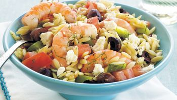 Shrimp and Orzo Salad