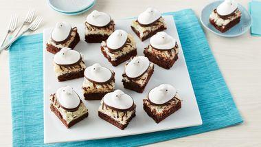 PEEPS® Coconut Macaroon Brownies