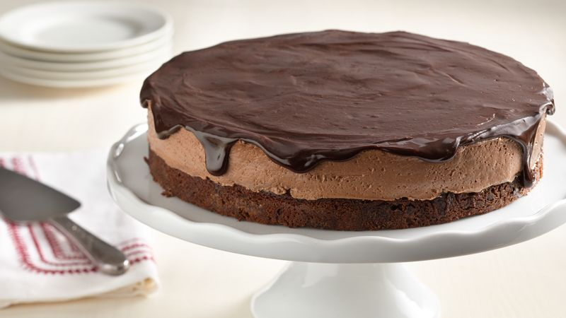Chocolate Mousse Torte