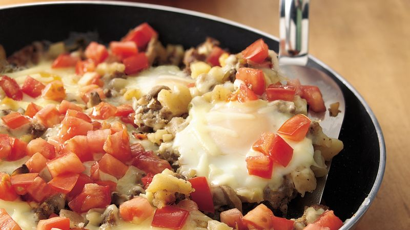 Eggs and Sausage Skillet