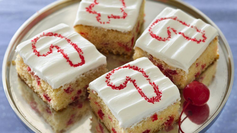 Festive Cake Bars