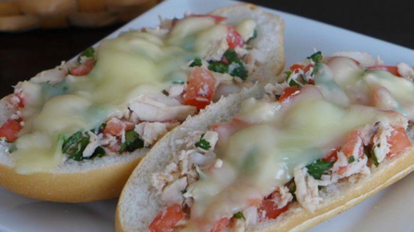 Sándwich Mexicano de Atún