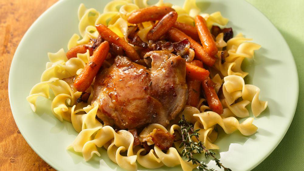 Honey-Glazed Chicken and Carrots