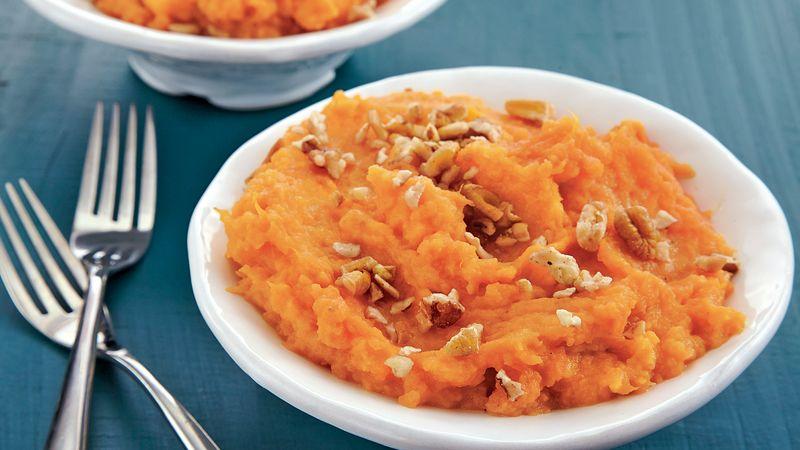 Slow-Cooker Maple-Orange Sweet Potatoes