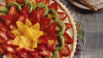 Orange-Glazed Strawberry Tart