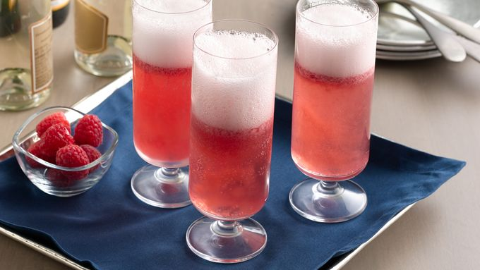 Sorbet Champagne Cocktail recipe - from Tablespoon!